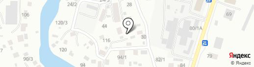 ТОЙОТА на карте Якутска