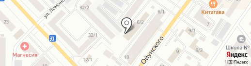 ПАУЭР на карте Якутска