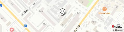 Бух 14 на карте Якутска