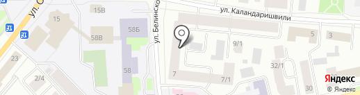 Пентхаус на карте Якутска