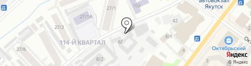 Сити Строй на карте Якутска