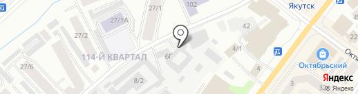 Успех на карте Якутска