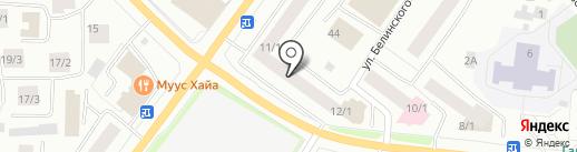PELICAN на карте Якутска