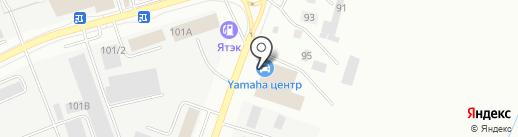 Polaris на карте Якутска