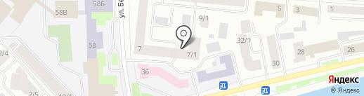 Счетная палата Республики Саха (Якутия) на карте Якутска