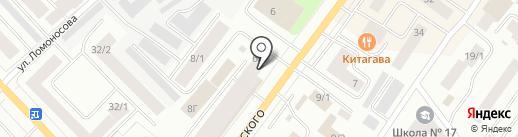 Лови Букет на карте Якутска