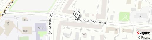 Якутский городской отдел судебных приставов по исполнению постановлений налоговых органов и взысканию административных штрафов на карте Якутска