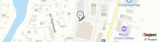 Новая на карте Якутска