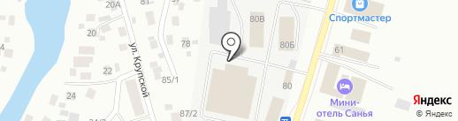 Оптово-розничный магазин на карте Якутска