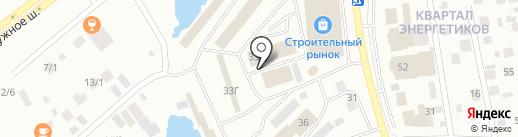 Золотая нить на карте Якутска