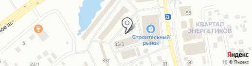 Магазин инструмента на карте Якутска