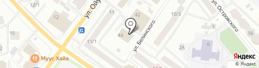 Кафе на карте Якутска