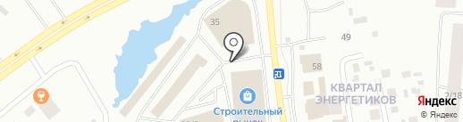 Стекольный цех на карте Якутска