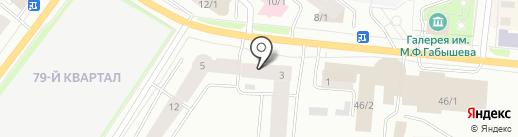 Успевай-ка на карте Якутска