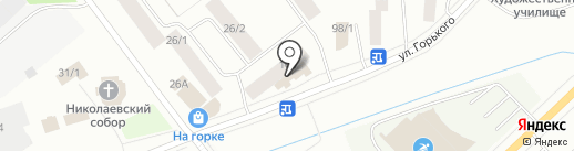 Гоби на карте Якутска