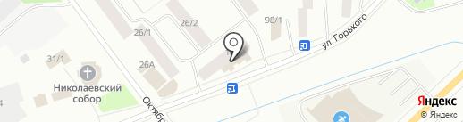 Туйаара на карте Якутска