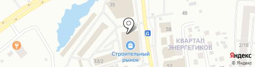 СахаКрепёж на карте Якутска