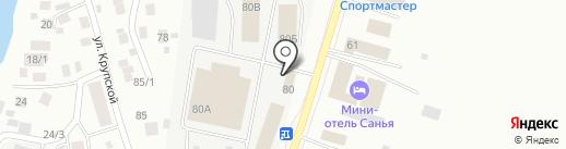 Баян-Гол на карте Якутска
