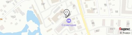 Хоту тент на карте Якутска