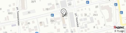 Sтанция на карте Якутска
