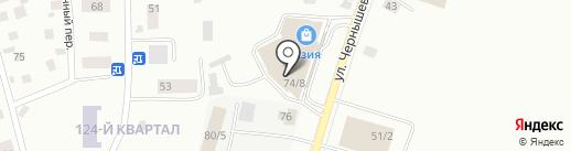 Уровень на карте Якутска