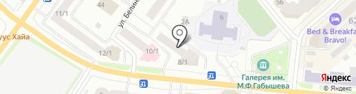 Инвесторы, ТСЖ на карте Якутска