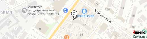 Технарь на карте Якутска