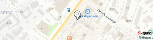 АлдьысСтрой на карте Якутска