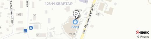 Камелёк на карте Якутска