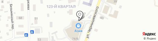 VisaTourService на карте Якутска