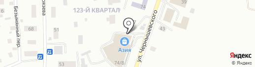 Самокат на карте Якутска