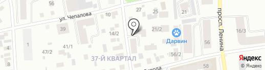 Дохсун на карте Якутска