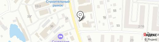 Поляна на карте Якутска