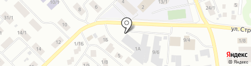 Орион Экспресс на карте Якутска