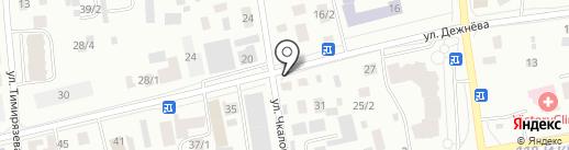 555 на карте Якутска