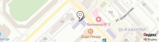 PR Centre на карте Якутска