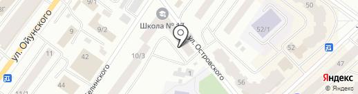 СахаКоллаж на карте Якутска