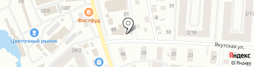 Топ Мебель на карте Якутска