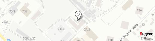 Компания на карте Якутска
