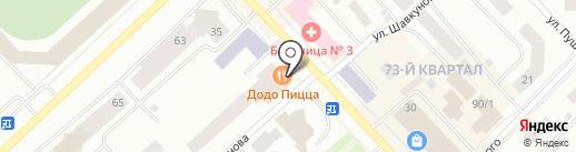 Нуга Бест на карте Якутска