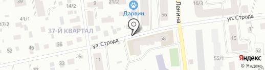 Всероссийское общество слепых на карте Якутска