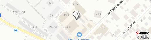 Магазин мужской спортивной одежды на карте Якутска