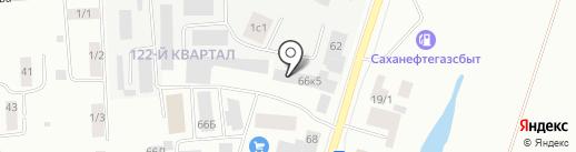 Шанс2+ на карте Якутска