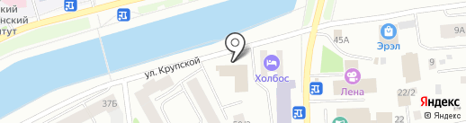 Алгыс на карте Якутска