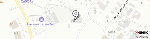 TOYON TIMIR на карте Якутска