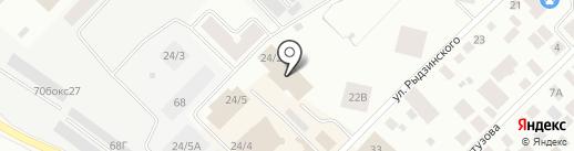 Магазин верхней одежды на карте Якутска