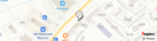 Диагностический центр на карте Якутска