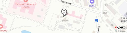Небесный рай на карте Якутска