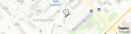 Авто-офис на карте Якутска