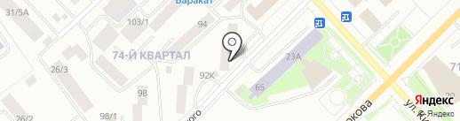 Айхал на карте Якутска